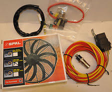 spal fan spal 185 degree fan wiring harness temperature sensor