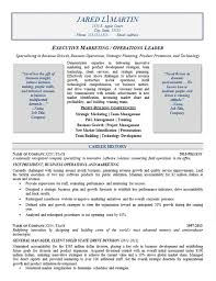 Leadership Resume Examples Amazing Marketing Operations Resume Example