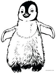 Cartoon Penguin Coloring Pages Color Page Tacky The Penguins Cute