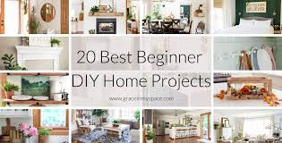 20 diy home projects for beginners