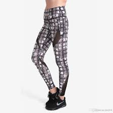 Patterned Yoga Pants Magnificent Online Cheap Pottis Floral Patterned Print Yoga Pants For Women