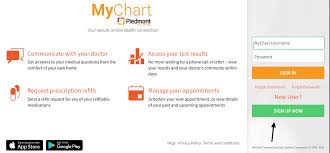 Mychart Piedmont Org Mychart Account Login Process
