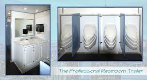 bathroom trailers. Contractor Restroom Trailer Bathroom Trailers