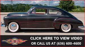 1949 Chevrolet Fleetline || For Sale - YouTube
