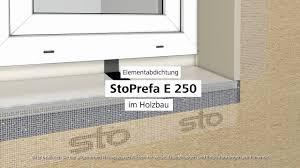 Abdichtungssystem Stoprefa E 250 Im Holzbau Youtube