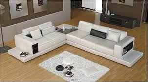 living room white leather sofa chic design ideas gray and couch