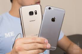 samsung galaxy s7 vs iphone 6s. samsung galaxy s7 vs apple iphone 6s iphone d