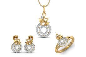 haida diamond pendant set endear jewellery