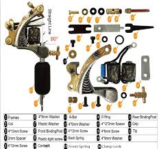 tattoo machine circuit diagram skin arts tattoo gun diagram skin arts