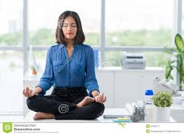 meditation office. Download Meditation In Office Stock Image. Image Of Businesspeople - 55453311