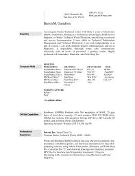 Free Resume Maker Word