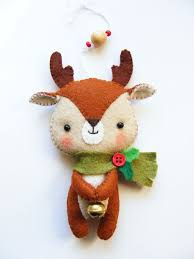 Best 25 Felt Christmas Ornaments Ideas On Pinterest  Christmas Easy Christmas Felt Crafts