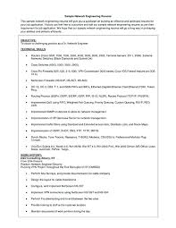 Cisco Voice Engineer Sample Resume Simple Resume Network Engineer Cisco Ocneurotherapy