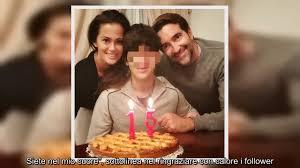 ✅ Samantha De Grenet compie 50 anni: la sorpresa del marito Luca Barbato e  del figlio Brando - YouTube
