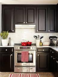 endearing kitchen decorating ideas dark cabinets 17 best ideas about dark kitchen cabinets on dark