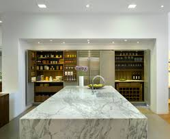 Granite Kitchen Work Tops Flagship Roundhouse Bespoke Kitchen Showroom In Wigmore Street
