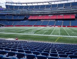 Gillette Stadium Section 108 Seat Views Seatgeek