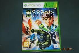 details about ben 10 ultimate alien cosmic destruction xbox 360 uk pal free uk pose