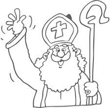 Kleurplaten Sinterklaas De Leukste Kleurplaten Van Sint Piet