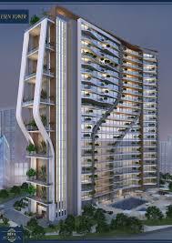 office building facade. Futuristic Architecture, Green Residential Amazing Building Elevation, Facade, Facade Design, Office