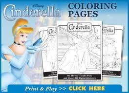 Free Cinderella Coloring Book Pdf Bargainbriana