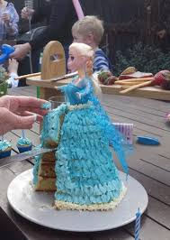 How To Make A Frozen Elsa Birthday Cake Recipe Eat Your Books