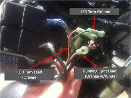 95 900rr signal light problems cbr forum enthusiast forums for here is how i have my wires hooked up ground and turn lead could easily add another set of mini leds to the running light lead to go running lights