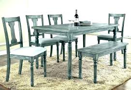 white and black kitchen table set canada gray grey dining charming whitewash