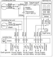 wiring diagram for bathroom heater fan