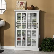 com sliding door media cabinet white kitchen dining storage with glass doors best home furniture design view larger black console s