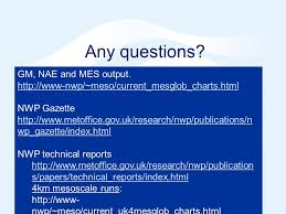 Nwp Charts Nwp In The Met Office Crown Copyright Ppt Video Online