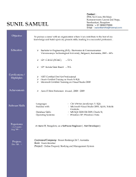 Resume Format Word Download Free Gulijobs Com