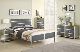 Home Interior: Confidential Bedroom Dresser Set Coaster Furniture Dewey  Collection Silver Twin Bed From Bedroom