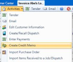 How Do I Create A Credit Or Refund For An Invoice Esc