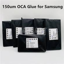 150 мкм <b>гибридная</b> OCA <b>пленка</b> S7 s8 s9 plus Note 8 9 10 + S10 ...