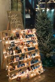 beautiful rustic wedding lights. Wooden Pallet Bridal Show Beautiful Rustic Wedding Lights