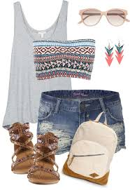 Awesome summer outfits ideas for girls Polyvore 36 Cute Outfit Ideas For Summer Summer Outfit Inspiration Her Style Code 36 Cute Outfit Ideas For Summer 2019 Summer Outfit Inspirations