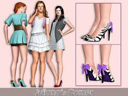 Sims 3 Updates - Downloads / Fashion / Shoes / Youngadult - page 18