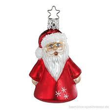 Inge Glas Christbaumschmuck Winter Santa 6owmwm8x