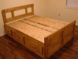 functional storage captains bed queen