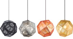 tom dixon style lighting. Tom Dixon Etch Pendant Lights Style Lighting