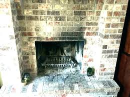 fireplace soot cleaning brick cleaner glass removing from remove