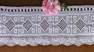 Free Crochet Curtain Patterns New Design Ideas