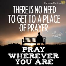 Pray Quotes Fascinating Oswald Chambers Quote Pray Wherever You Are ChristianQuotes