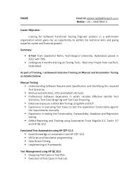 automation test engineer resume testing fresher resume test automation  engineer cv example