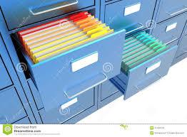 open file cabinet. Folders In The File Cabinet Open