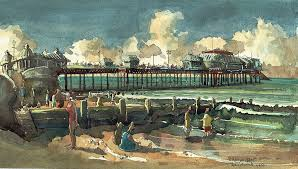win a painting of cromer pier in next newsletter sent 15th sept 2017