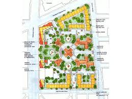 master planning of the cathedral housing development