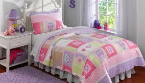 quilt astounding twin purple clearance crib little and s girl for target sets toddler pink bedding