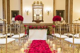 red gold wedding decoration ideas best of luxury red and gold wedding at the lanesborough